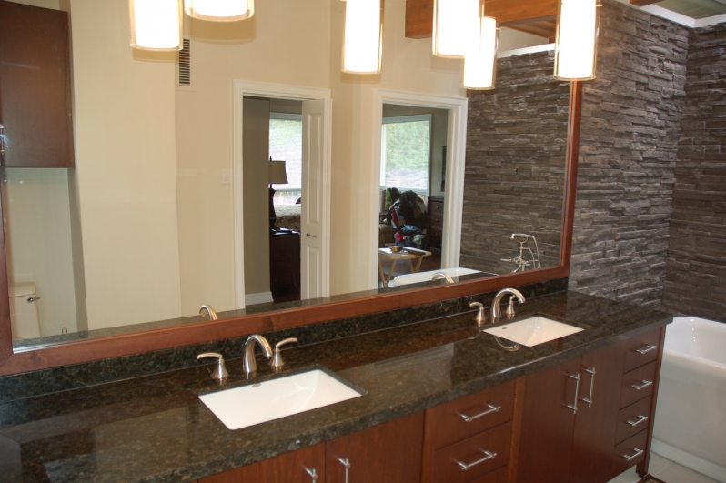 image of a double vanity