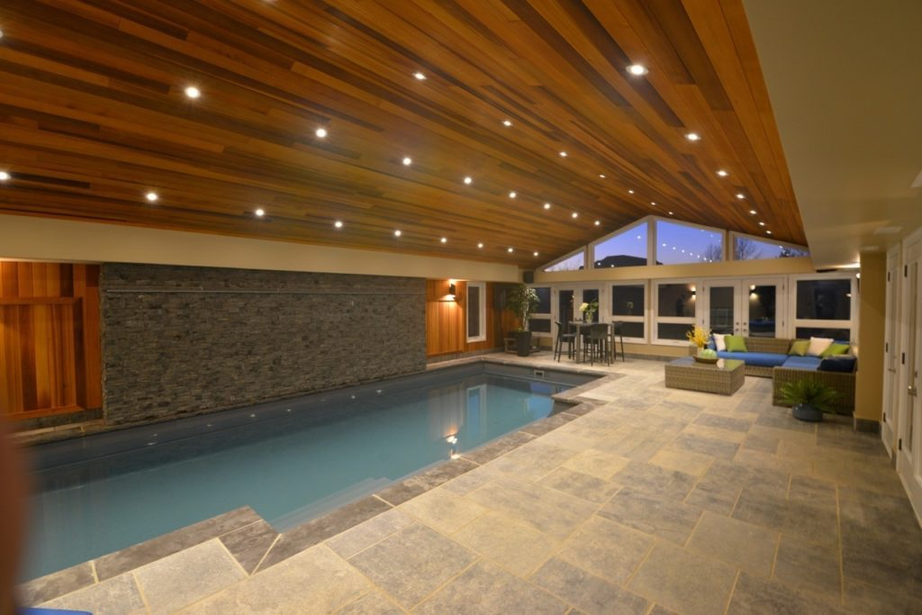 image of a custom pool indoor